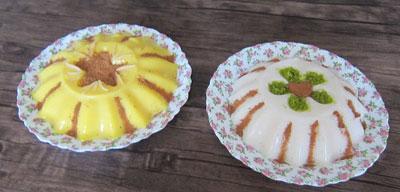 طرز تهیه فرنی متفاوت با طعم بستنی برای سفره افطارتان