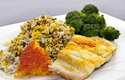 سبزی پلو ماهی هندی,طرز تهیه سبزی پلو ماهی هندی