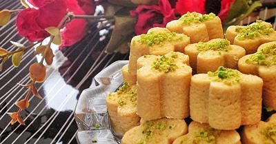 شیرینی نخودچی -  شیرینی عید