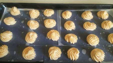 آموزش درست کردن نان خامه ای, طرز تهیه نان خامه ای خانگی
