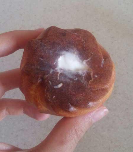 مواد لازم برای نان خامه ای, درست کردن خامه نان خامه ای
