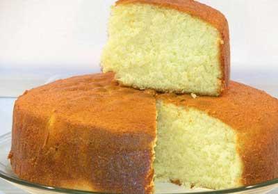 کیک اسفنجی بدون فر,طرز تهیه کیک اسفنجی بدون فر