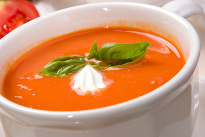طرز تهیه سوپ گوجه فرنگی,درست کردن سوپ گوجه فرنگی