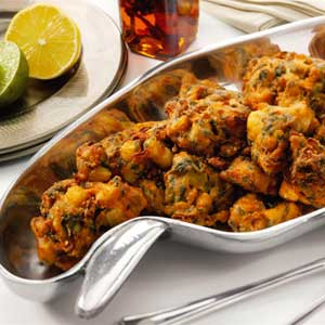 پاکورا غذای هندی,طرز تهیه پاکورا غذای هندی