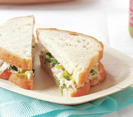 آموزش تهیه چند ساندویچ برای ناهار مدرسه کودکان