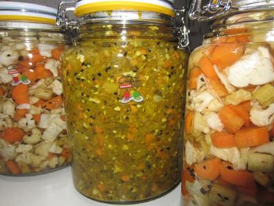طرز تهیه شور سبزیجات, درست کردن شور و ترشی سبزیجات