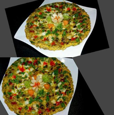طرز تهیه املت قارچ و پیازچه