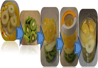 نحوه درست کردن ترشی چند میوه,طرز تهیه ترشی میوه