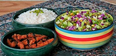 درست کردن دونر کباب مرغ, مواد لازم برای تهیه دونر کباب مرغ