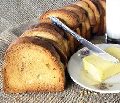 پخت نان سوخاری,درست کردن نان سوخاری