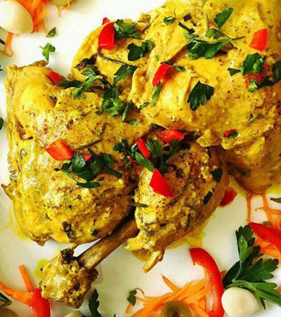 درست کردن مرغ مارینه یونانی,نحوه پخت مرغ مارینه یونانی