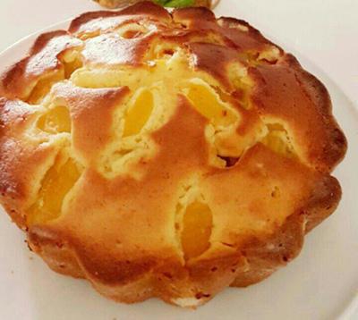 پخت کیک زردآلو,نحوه درست کردن کیک زردآلو