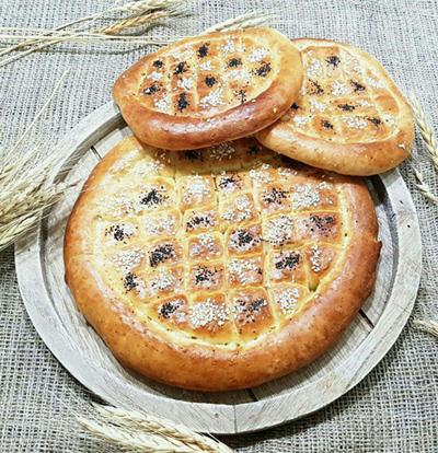 نحوه درست کردن نان پیده,طرز تهیه نان پیده