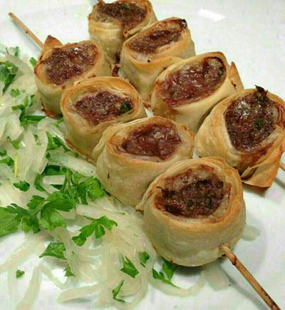 طرز تهیه کباب ضیافتی با یوفکا