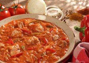 خورش مرغ مکزیکی