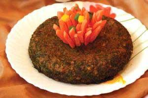 طرز تهیه کوکوی گل کلم