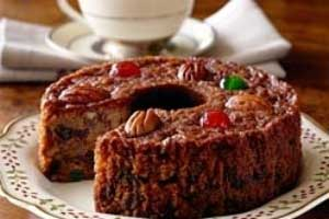 کیک میوه ای,طرز تهیه کیک میوه ای