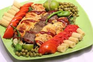 کباب قفقازي,طرز تهیه کباب قفقازي