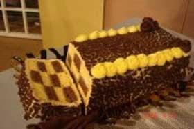 کیک کره ای,طرز تهیه کیک کره ای