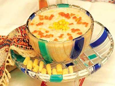 سوپ غلات ویژه ماه رمضان