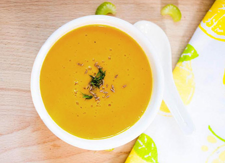طرز تهيه اولين سوپ کودک ( سوپ پايه )