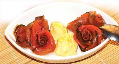 مربای هویج و خیار