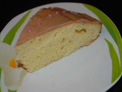 کیک پرتقالی با روکش شکلاتی
