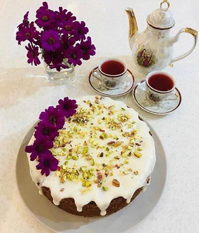 دستور پخت کیک اسفنجی