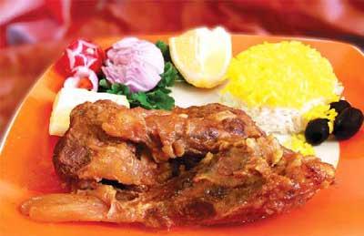 خوراک ماهیچه گوساله