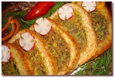 طرز تهیه کوکو سبزی در نان تست انواع کوکو