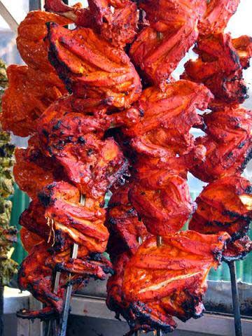 مرغ تندوری غذای هندی,طرز تهیه مرغ تندوری غذای هندی