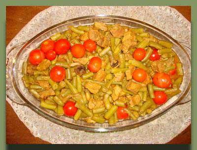 طرز تهیه خورش لوبیا سبز آموزش آشپزی