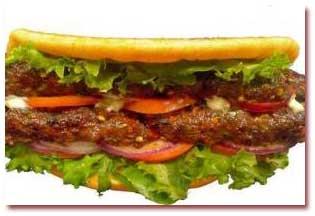 کوفته ساندویچی
