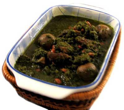 قرمه سبزی با سبزی خشکه, پخت قورمه سبزی