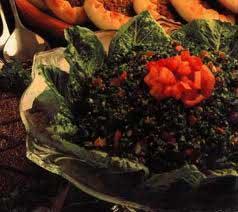 تبوله سالاد لبنانی,طرز تهیه تبوله سالاد لبنانی
