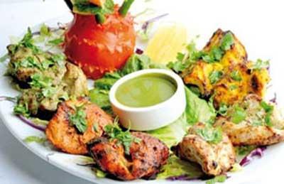 پخت پاری کباب , غذاهای هندی