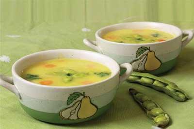 سوپ باقالا, طرز تهیه سوپ باقالی, تهیه سوپ باقالی, پخت سوپ باقالا, پخت انواع سوپ
