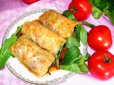 دلمه کباب ( غذای هلندی )