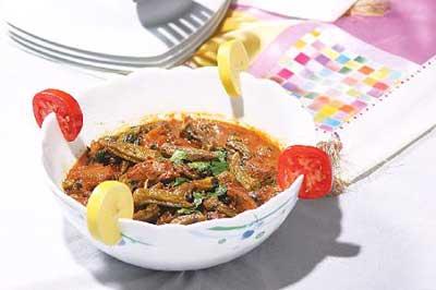 آشپزی,خورش بامیه عربی