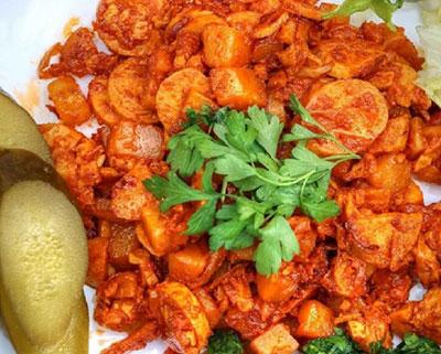 دستور پخت سوسیس بندری انواع خوراک