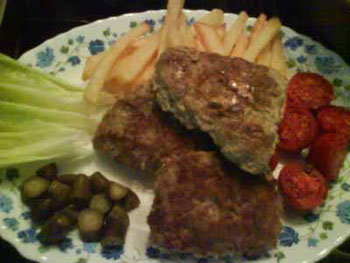 گوشت چرخ کرده رژیمی , پخت غذاهای رژیمی