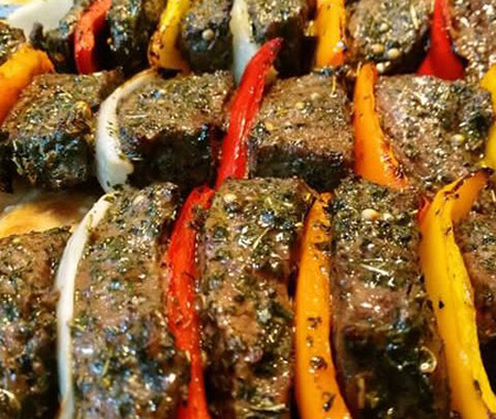 طرز تهیه کباب بره ی فرانسوی،طرز پخت غذا با گوشت خورشتی