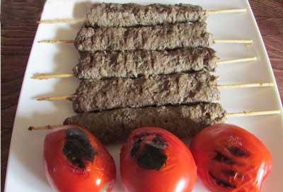 درست کردن کباب کوبیده سیخی,طرز تهیه کباب کوبیده سیخی