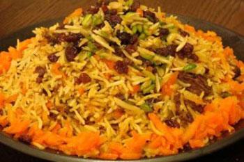 طرز تهیه پلو پاکستانی