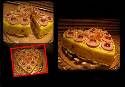 طرز پخت کیک ماکارونی , طرز درست کردن کیک ماکارونی
