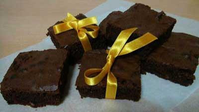 طرز پخت کیک براونی, طرز درست کردن کیک براونی