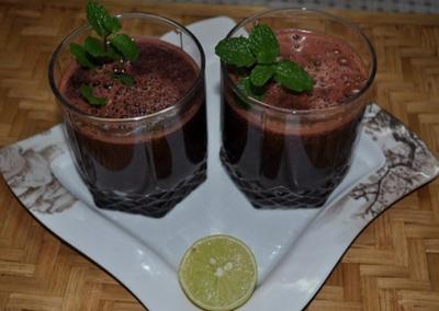 نحوه درست کردن آب میوه و سبزیجات,مواد لازم برای تهیه آب میوه و سبزیجات