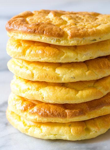 طرز تهیه نان کتوژنیک, رژیم غذایی کتوژنیک, نان کتوژنیک چیست