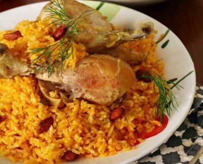 طرز تهیه کبسه مرغ, کبسه مرغ لبنان
