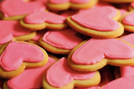 شیرینی های قلبی,طرز تهیه شیرینی های قلبی